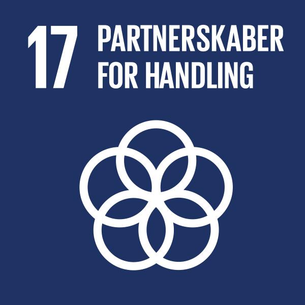Verdensmål nr 17 partnerskaber for handling